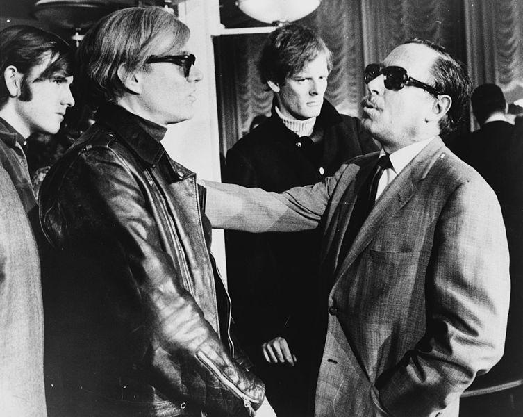 Instantánea de Andy Warhol Tennessee Williams.