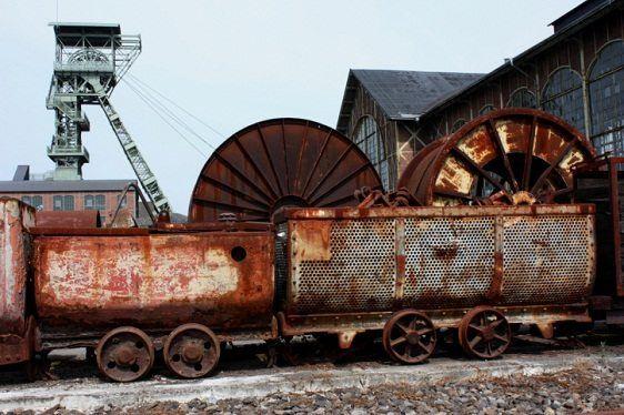 Fábrica abandonada en Dortmund