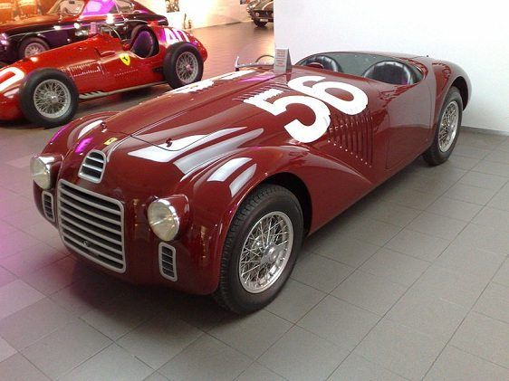 Ferrari 125 S, primer modelo de la marca Ferrari
