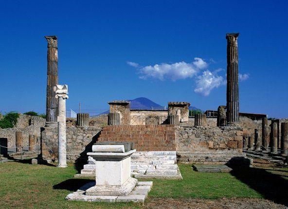 Vista general de Pompeya