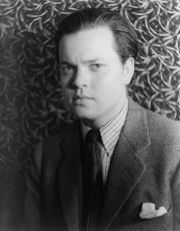 Retrato de Orson Welles