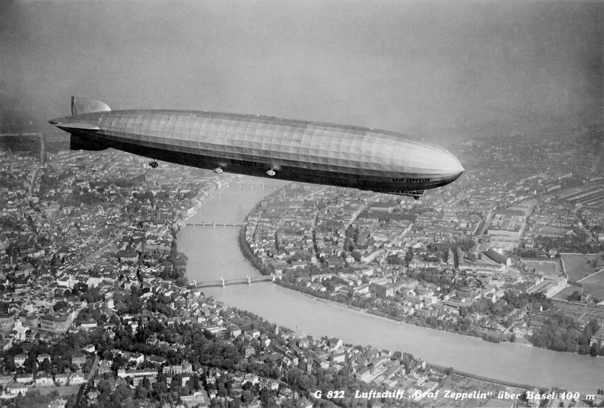 historia zeppelin