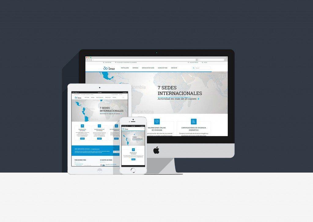 Así es la nueva web de Tinsa