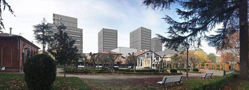 Proyectos urbanísticos Ensanche Pamplona